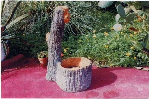 Fontana finto legno fontane arredo da giardino for Fontane in legno
